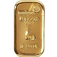 investment gold bar 500g