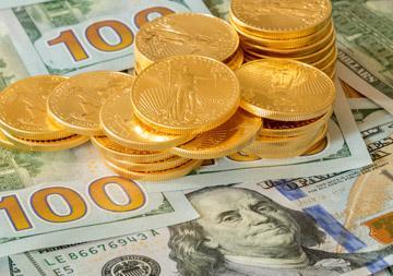 dollari ja kulta