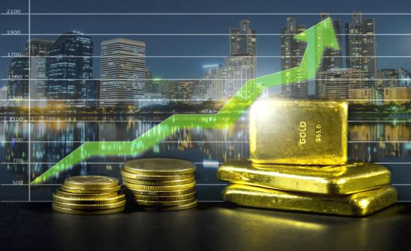 gold price is rising